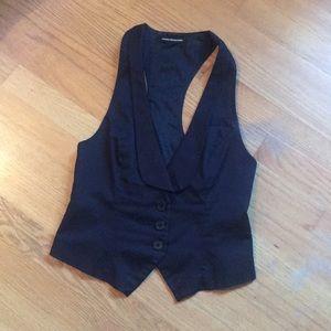Express - 3 Button Tuxedo {women's} Vest